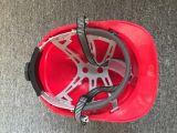 Шлемы безопасности раковины PE пряжки подбородка подкладки Farbic регулируемым специализированные храповиком с Ce