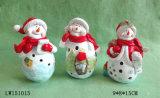 Het Beeldje van de Sneeuwman van Kerstmis voor Ornament