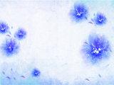 熱い項目安い価格のホーム装飾の青い花模様デザイン油絵