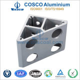 Perfil de aluminio de la protuberancia del OEM para el equipamiento médico