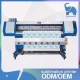 de Levering voor doorverkoop van de Printer van de Sublimatie van de Kleurstof van het Grote Formaat van 1.8m Dx5