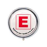 卸し売り安く小さい装飾の円形の丸薬ボックス鉛1042