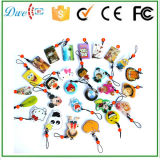 Lovely Cartoon Character Epoxy RFID Keyfobs Crystal Glue Epoxy Card