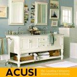 Vanità semplice americana all'ingrosso della stanza da bagno di legno solido della quercia di stile (ACS1-W33)