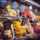 Машина мороженного машины мороженного Gelato итальянская