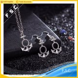 O mais recente Design Fashion Alloy Anchor Jewelry Set for Women