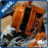 سلسلة اليد البكرة المصاعد مع G80 سلسلة Munaul بلوك