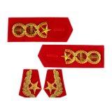 OEMの高品質のカスタム刺繍のEpaulette