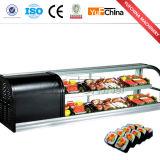 Réfrigérateur commercial d'étalage de sushi de vente chaude