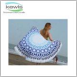 Reattivo stampato intorno al tovagliolo di spiaggia per il regalo
