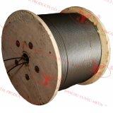 Multi-Положенная веревочка стального провода 18X7 стренг