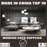 L形の贅沢なステンレス鋼の家具の革ソファー