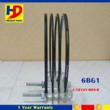 anel de pistão do motor Diesel de 6bg1 Isuzu (1-12121-065-0 1-12121-101-0 1-12121-121-0)