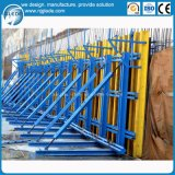 Hersteller konzipierte einzelne seitliche konkrete Verschalung für Aufbau