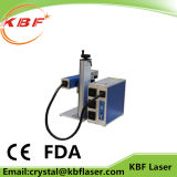 Kleine industrielle Faser-Laser-Markierungs-Maschine für Edelstahl