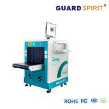 150kv de tensión de tubo de rayos X de equipaje de inspección de la sala de exposiciones de escáner de rayos X.