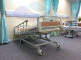 AG-BMS001 mit leises Rad-Krankenhaus-justierbarem manuellem reizbarem Bett