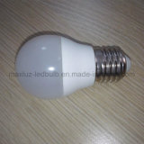 Dimmable LED Glühlampe der Golf-Birnen-P45 3W LED