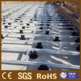 Производство регулируемые пластиковые пьедестал на поднятые WPC композитный декорированных