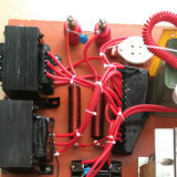 Negro ignífugo neumático del manguito de aire de la PU 6*4