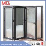 Porte Bifold en aluminium extérieure d'interruption thermique