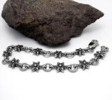 Acessórios de moda Braceletes de cadeia de jóias de aço inoxidável unisex