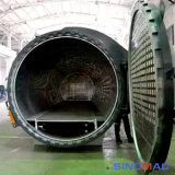 reactor de curado compuesto aprobado de 2000X4000m m ASME (SN-CGF2040)