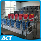 Sistema ritrattabile telescopico automatico della disposizione dei posti a sedere per ginnastica