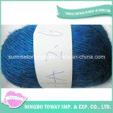 Fils de chaussettes de nouvelle conception de tricotage de rabais de gros fil de laine