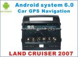 Nouveau DVD voiture Ui Android 6.0 pour Land Cruiser 2007 avec navigation GPS voiture