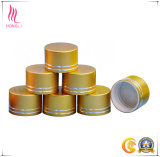 Tampões de parafuso personalizados do frasco do metal da prata do ouro para os frascos de vidro