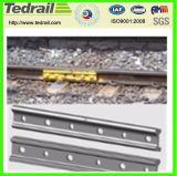 Eclisa ferroviaria del pasamano de acero moderno