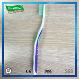 Toothbrush alto fresco della setola di Du Pont con la maniglia antiscorrimento
