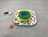 La SGS approuvé Hot-Sell Fibre de bambou naturel de la vaisselle bol Set (YK-S4043)