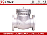 Válvula de retenção de aço inoxidável de aço fundido