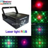 RGB 레이저 광 풀 컬러 Laser 단계 점화 디스코 빛 48 패턴 광범위