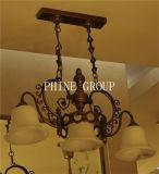 Lustre de haute qualité avec lampe suspendue espagnole en marbre