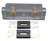 0/2/4 Gauge Ga Anl Soporte de fusible + Anl Fusibles Distribuidor en línea 0 4 8 Ga Chapado en oro