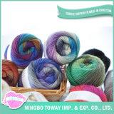 Для вязания мягкой игольчатый фантазии космической Вся обшивочная ткань шерсть, пряжа для носки