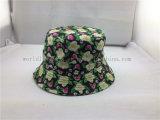 Chapeaux estampés floraux de corail faits sur commande de position