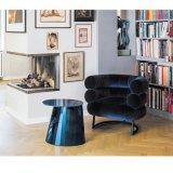 현대 디자인된 여가 가죽 의자
