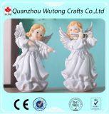 卸し売り装飾のカスタム樹脂の庭の天使の彫像