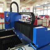 CNCファブリック平らなシートのファイバーの金属レーザーの打抜き機