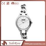 La mujer Acero Inoxidable clásico reloj de cuarzo resistente al agua con