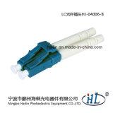 LC 3.0mm de Duplex Optische Schakelaar van de Vezel met Metalen kap