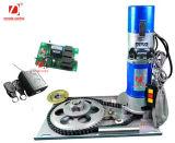 Motor de control remoto para rodillos del obturador y la puerta del garaje