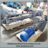 De centrifugaal Verticale Pomp van de Dunne modder van de Zinkput voor Mijnbouw & het Water van het Afval