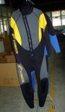 5mmのネオプレンのぬれた水着の人(JMC-356F)のための乾燥したスポーツの潜水服