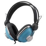 取り外し可能なマイクロフォンオプションの耳のハイファイヘッドホーンに