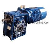 Motor con engranajes de la serie de la caja de engranajes del gusano de Nmrv